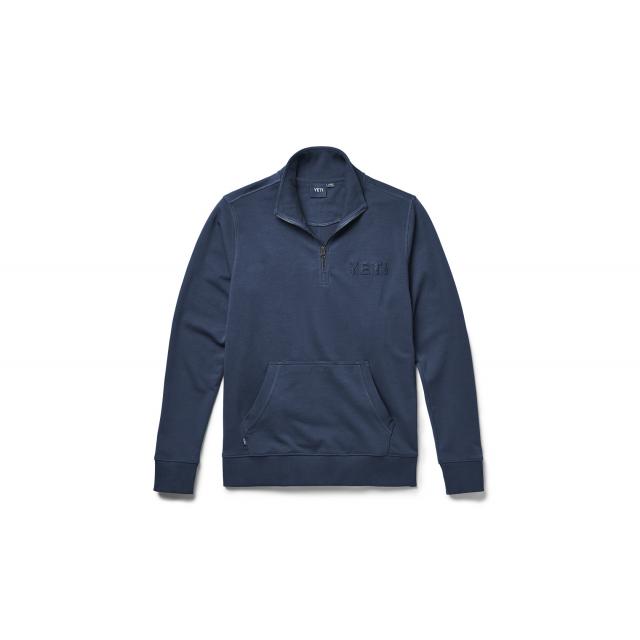 YETI - French Terry Quarter Zip Pullover - Navy
