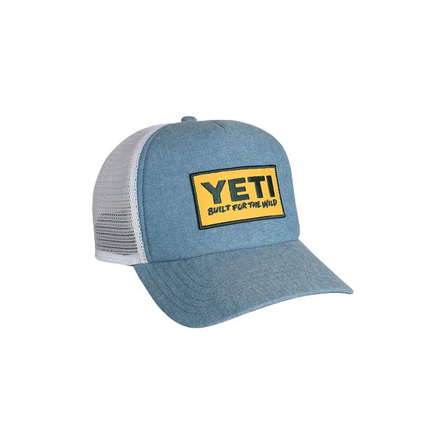 def8256a1eb43 YETI   Deep Fit Foam Patch Trucker Hat Chambray