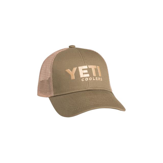 YETI   YETI Trucker Hat Olive Green d698b4fc740