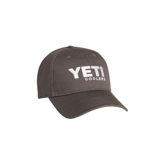 b0f41896591 YETI   YETI Full Panel Low Pro Hat Gunmetal Gray with White