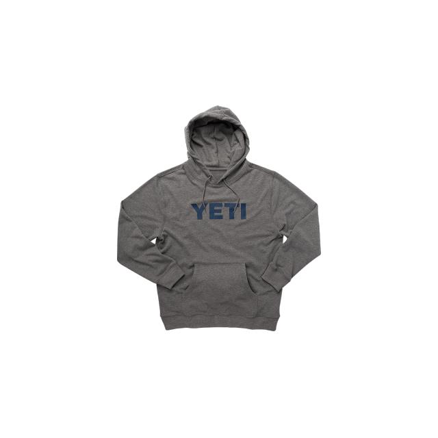 YETI - Logo Hoodie Pull Over Heather Gray S