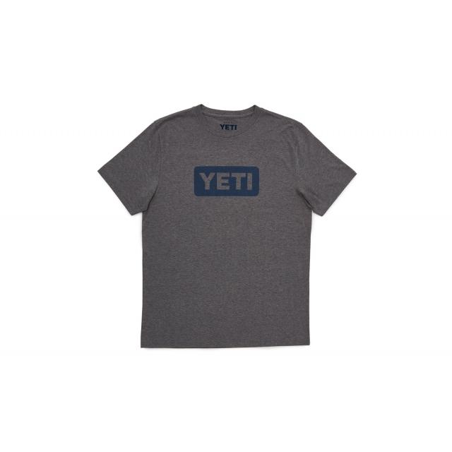 YETI - Logo Badge Hgray Mid Wt. Triblend SST S
