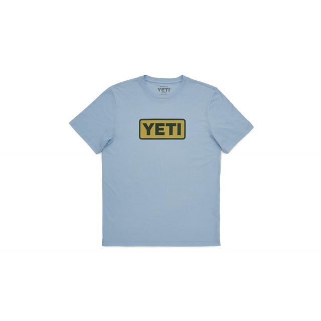 YETI - Logo Badge Hcblue Mid Wt. Triblend SST L