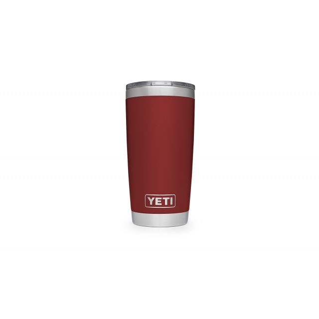 YETI - Rambler Tumbler with Lid - 20 oz - Brick Red in Longmont CO