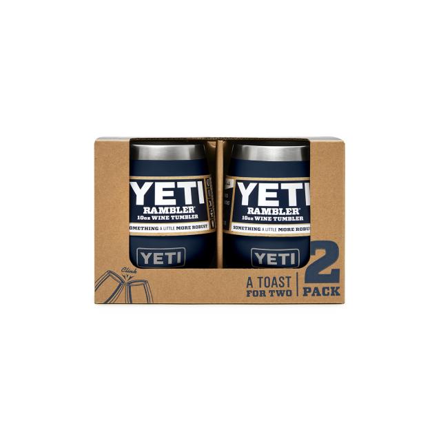 YETI - Rambler 10 Oz Wine Tumbler - 2 Pack - Navy in Kissimmee FL