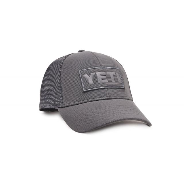 YETI - Patch Trucker Hat - Gray On Gray in Grand Blanc MI