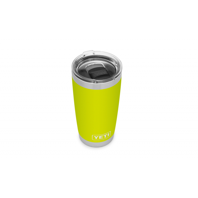 Rambler 20 Oz Tumbler With Magslider Lid – Chartreuse