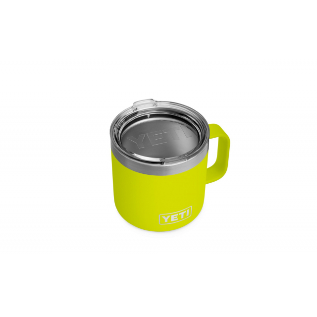 YETI - Rambler 14 Oz Mug With Standard Lid - Chartreuse in Orange City FL
