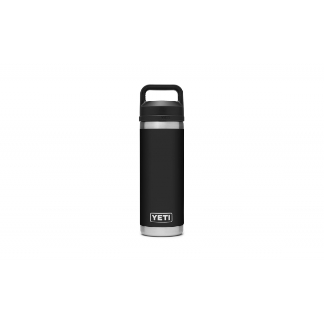 YETI - Rambler 18 Oz Bottle With Chug Cap - Black in Pontiac IL