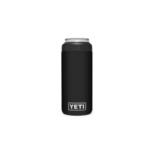 YETI - Rambler 12 Oz Colster Slim Can Insulator - Black in Jacksonville IL