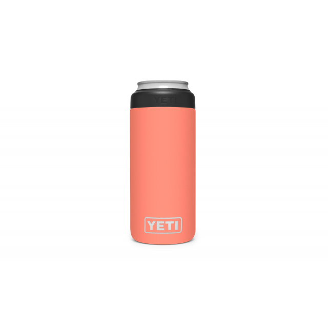 YETI - Rambler 12 Oz Colster Slim Can Insulator - Coral in Morehead KY