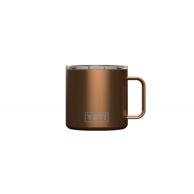 Rambler 14 Oz Mug With Standard Lid – Copper