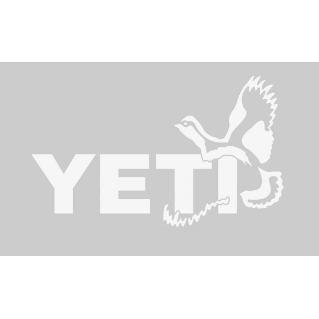 YETI - Quail Window Decal