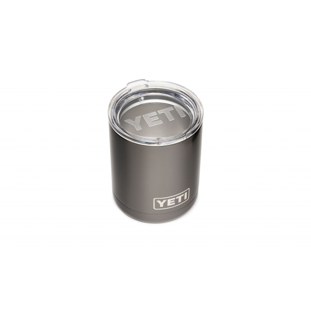 YETI - Rambler 10 Oz Lowball With Standard Lid - Graphite in Pittsburgh PA