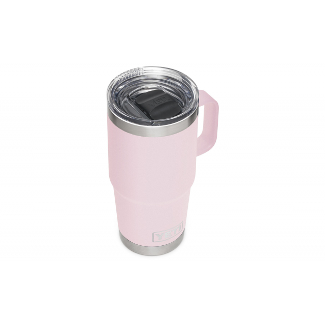 YETI - Rambler 591 ML Travel Mug With Stronghold Lid - Ice Pink