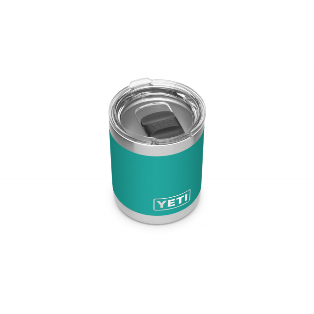 YETI - Rambler 10 oz Lowball with Magslider Lid - Aquifer Blue in Flintstone GA
