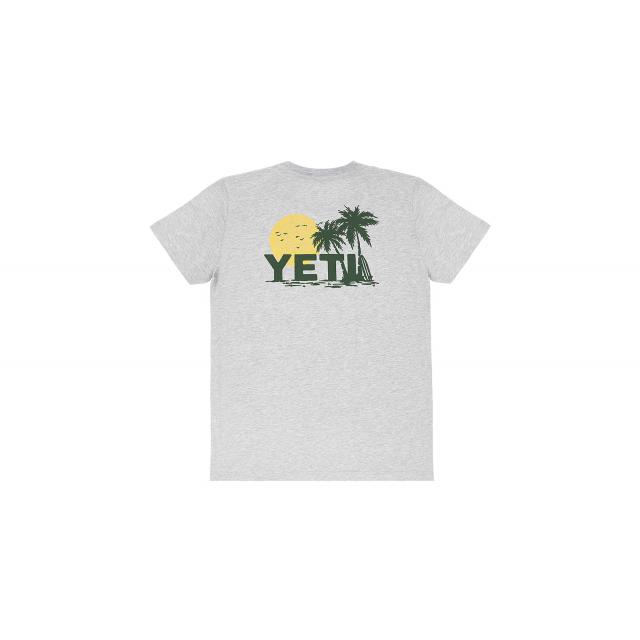 YETI - Women's Surf Sunset Short Sleeve T-Shirt - Heather Gray - XS