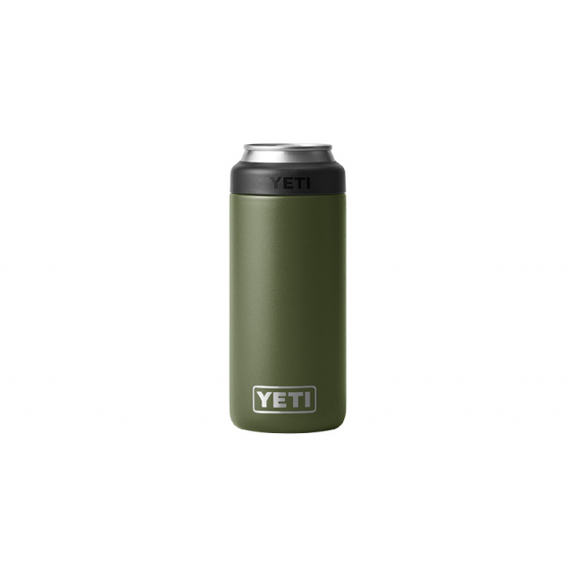 YETI - Rambler 12 oz Colster Slim Can Insulator - Highlands Olive in Libby MT