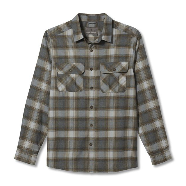 Men's Lost Coast Flannel Plaid L/S