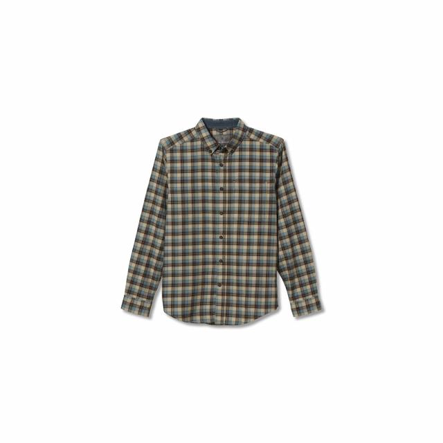 Royal Robbins - Men's Lieback Organic Cotton Flannel L/S in Chelan WA