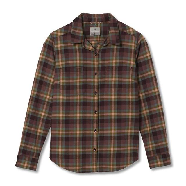 Women's Lieback Organic Cotton Flannel L/S