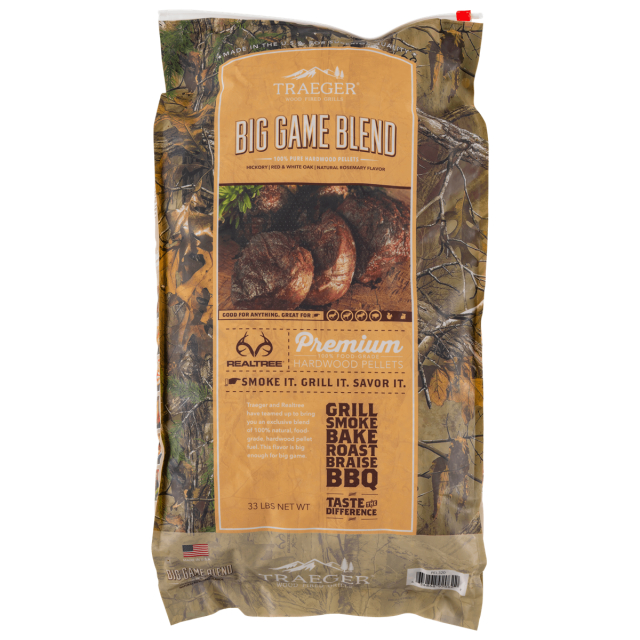Traeger Grill - Realtree Big Game Blend Pellets (33 Lb) in Lafayette CO