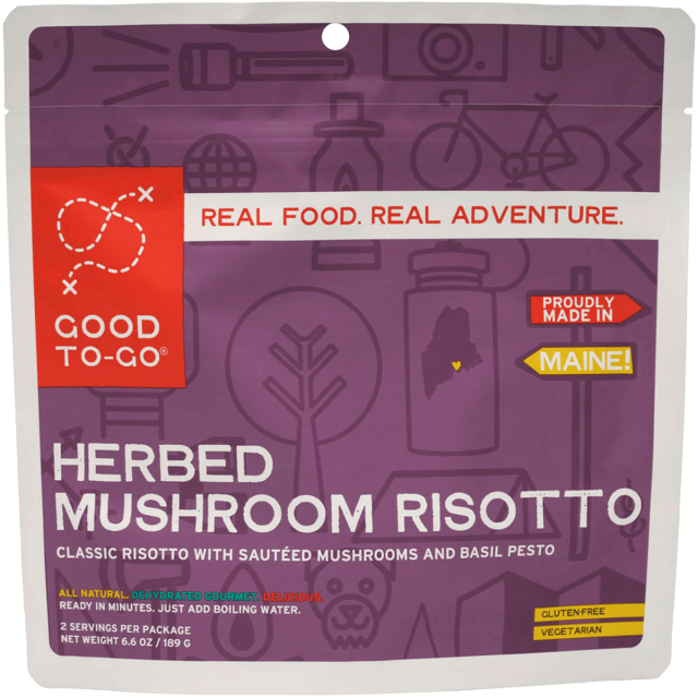 Jetboil - Good To-Go Herbed Mushroom Risotto in Alamosa CO