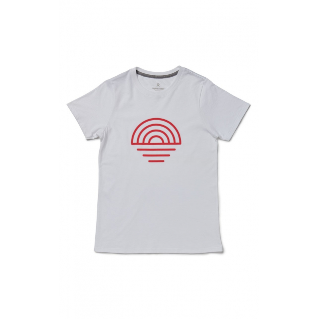 Hydro Flask - Cotton SS Tee Women's Coastal in Red Deer Ab