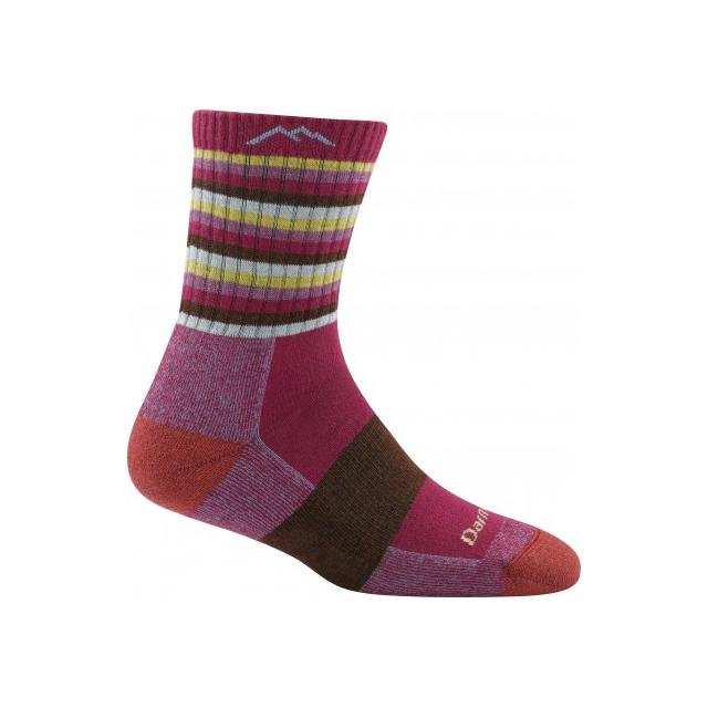 Darn Tough - Women's Coolmax Stripes Micro Crew Sock Cushion