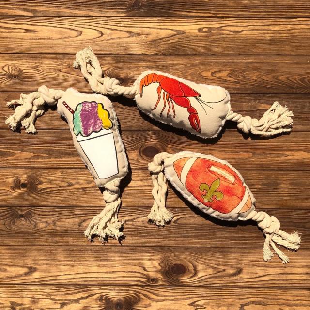Dirty Coast - Dog Toys by Nola Tawk