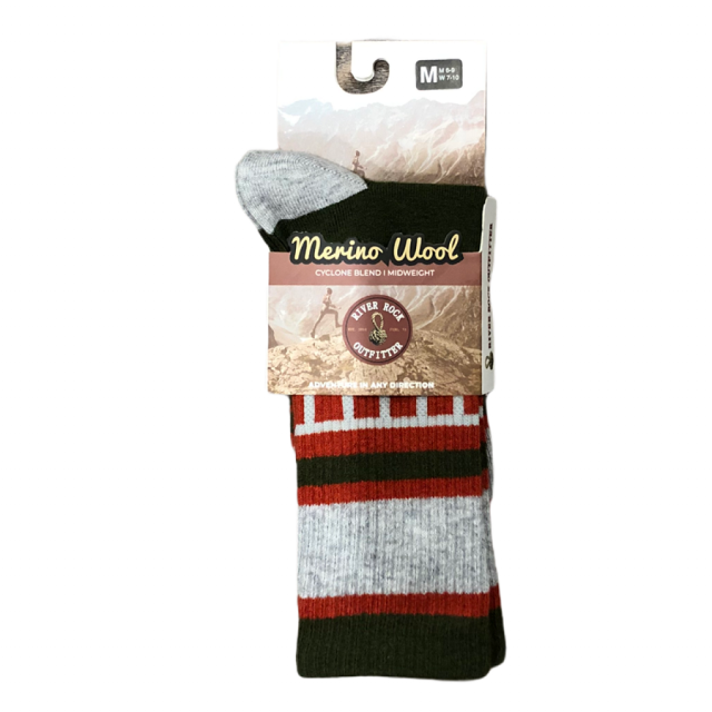 River Rock Outfitter Collection - Merino Wool Socks