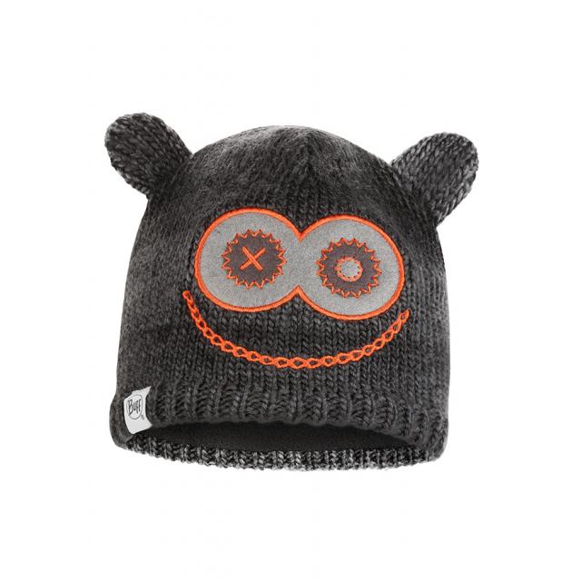 Buff - Child Knitted & Fleece Hat Monster Black in Alamosa CO