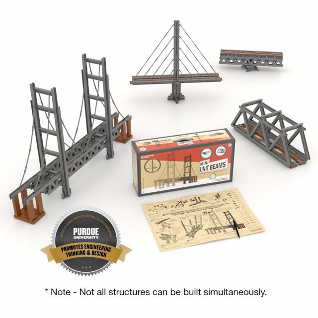 Unit Bricks - Mini Unit Beams Bridges Set