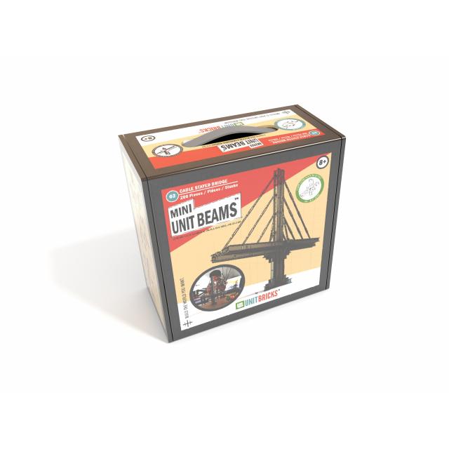 Unit Bricks - Mini Unit Beams Stone Cutters Bridge Set
