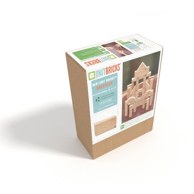 Unit Bricks - Mini Unit Bricks 58pc Set - Solid
