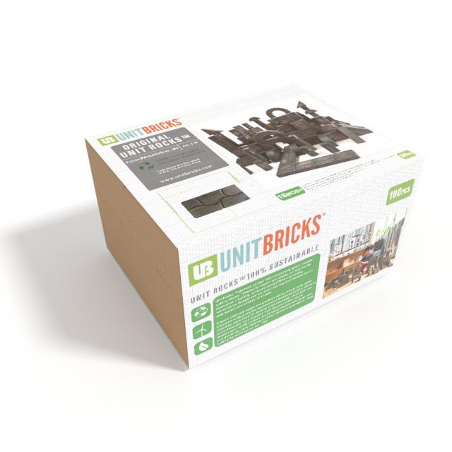 Unit Bricks - Unit Rocks 100pc Set