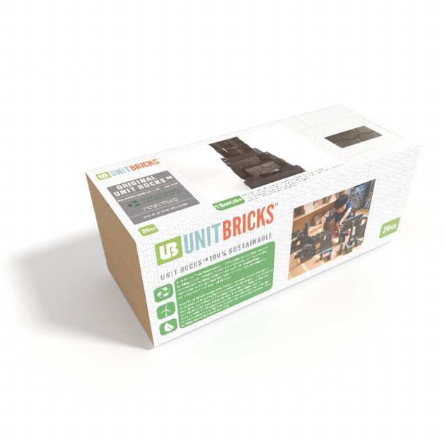 Unit Bricks - Unit Rocks 24pc Set