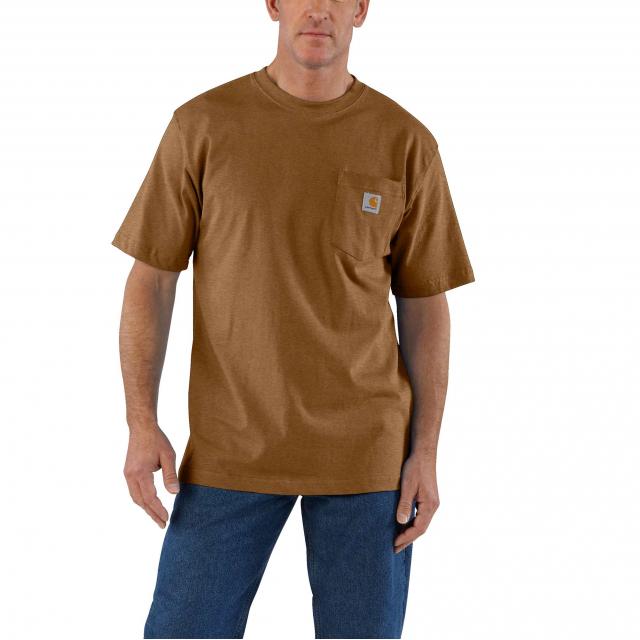 Carhartt - Men's Workwear Pkt SS TShrt MW Jersey Org Fit in Chelan WA