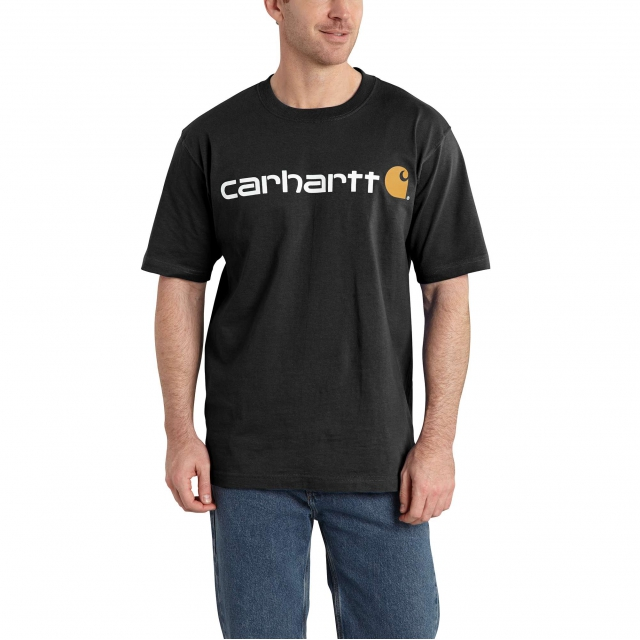 Carhartt - Men's Signature Logo SS MW Jersey TShrt Gphc in Chelan WA