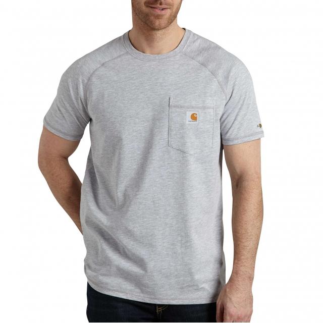 Carhartt - Men's Force Cotton Delmont SS T Shirt Rlxd Fit in Chelan WA