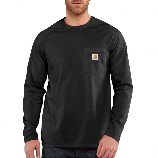 Carhartt - Force® Cotton Delmont Long-Sleeve T-Shirt in Omak WA