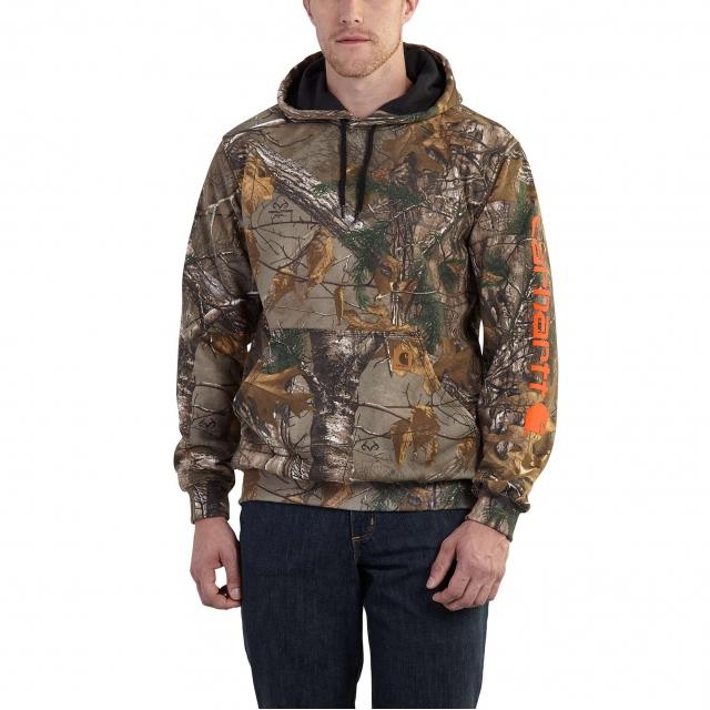 865984c3a82 Carhartt / Midweight Camo Sleeve Logo Hooded Sweatshirt