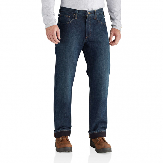 Carhartt - M Relaxed Fit Holter Jean Fleece Lined in Fort Collins CO