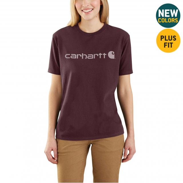 Carhartt - Women's WK195 Workwear Logo SS Tshirt in Lafayette CO
