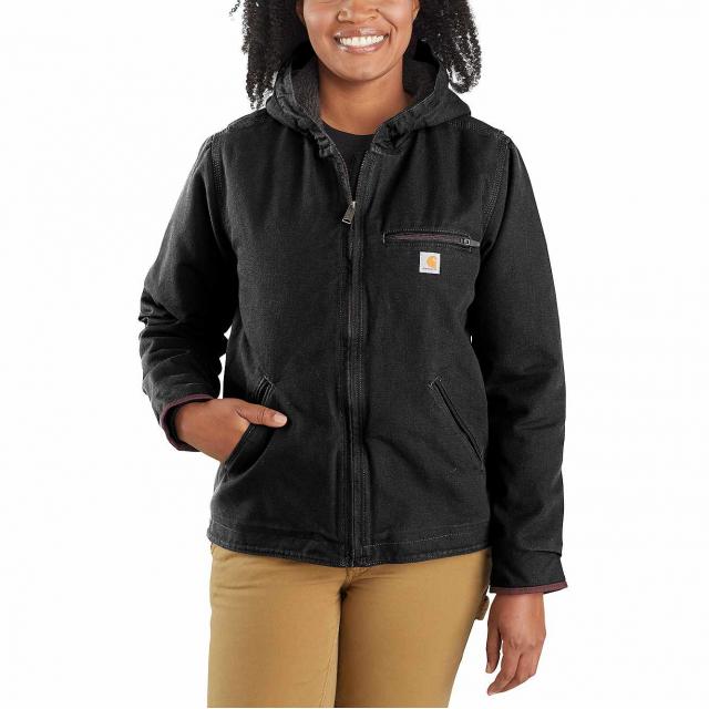 Carhartt - OJ141 Women's Shrpa Lind Hdd Jacket in Omak WA
