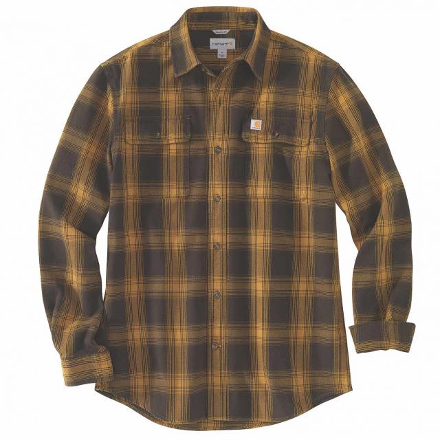 Carhartt - Men's TW451 M Org Fit Flnl LS Pld Shirt in Lafayette CO