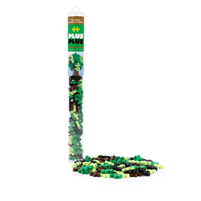 Plus-Plus - 70 pc Tube - Camouflage Mix in Loveland CO