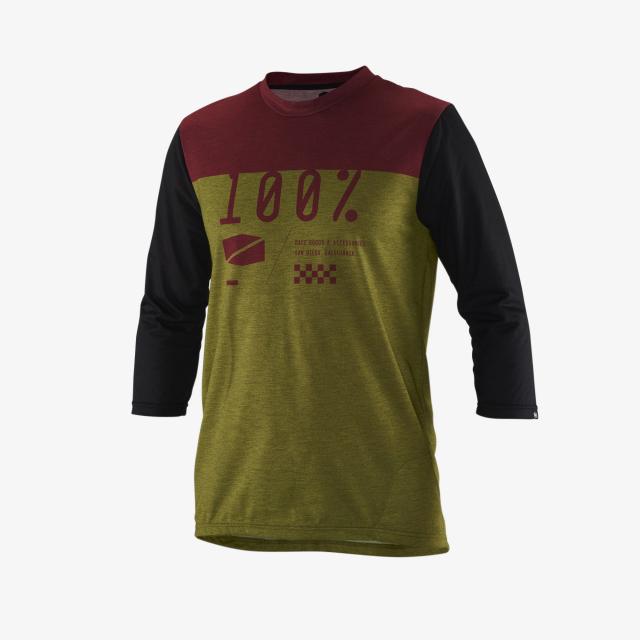 100percent Brand - Airmatic 3/4 Sleeve Jersey