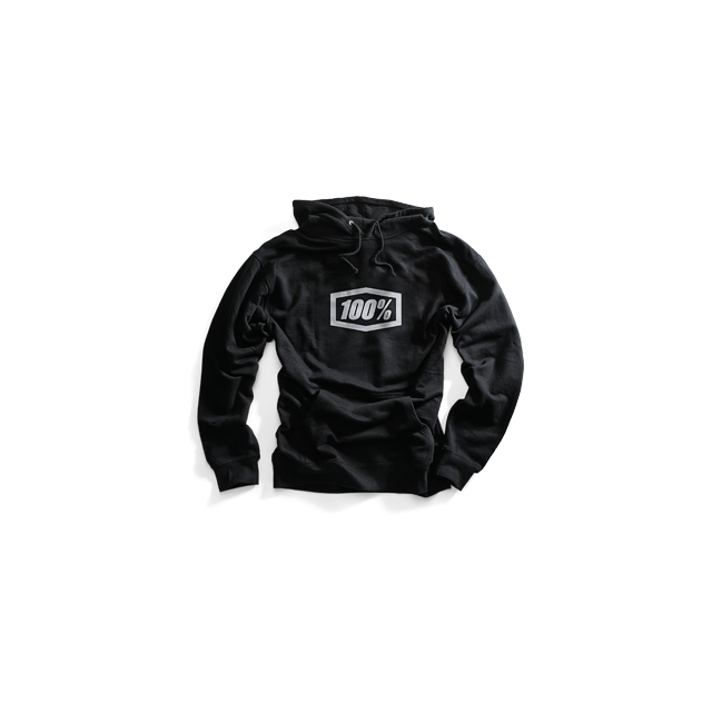 100percent Brand - Essential Hooded Pullover Sweatshirt