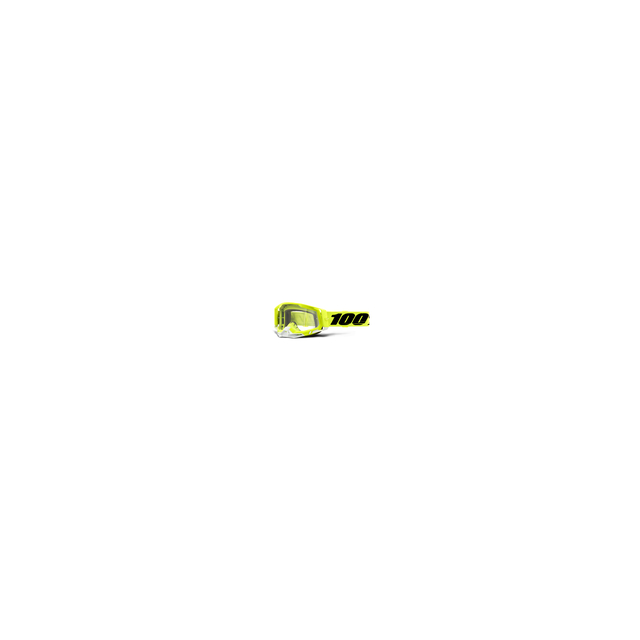 100percent Brand - Racecraft 2 Goggle Fluo Yellow - Clear Lens